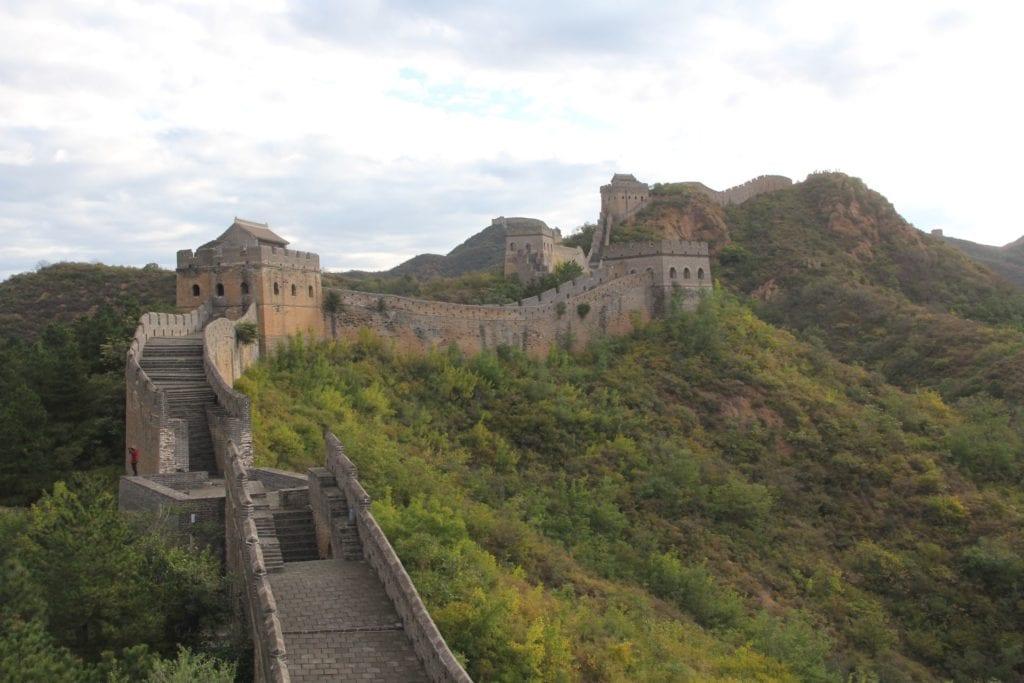 Jinshanling Chinesische Mauer 11
