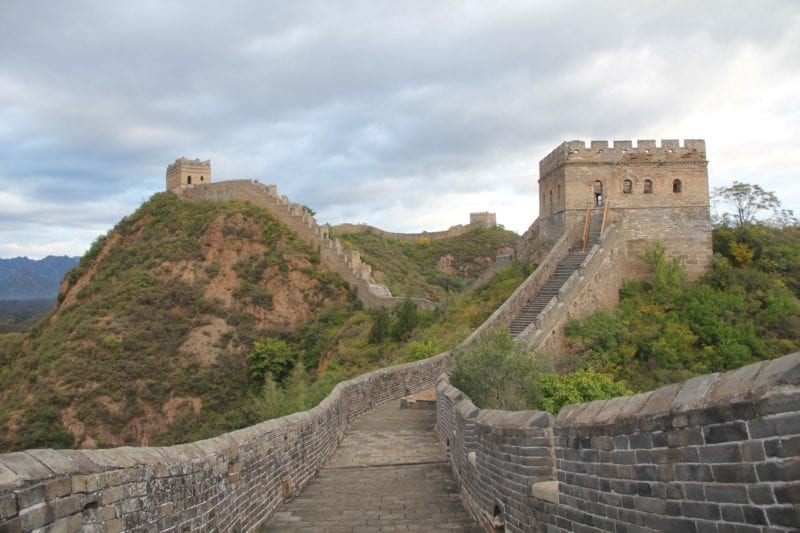 Jinshanling Chinesische Mauer 2