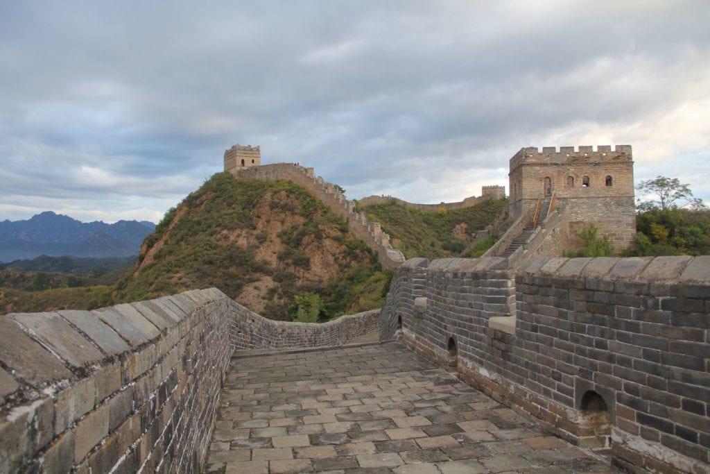 Jinshanling Chinesische Mauer 4