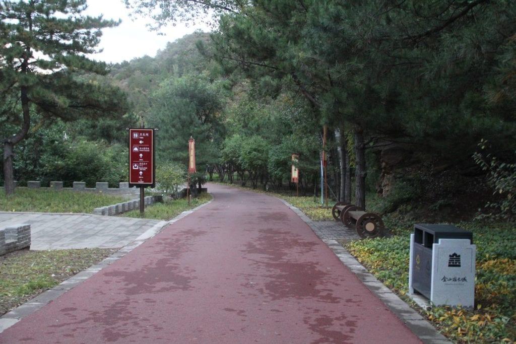 Jinshanling Chinesische Mauer Weg
