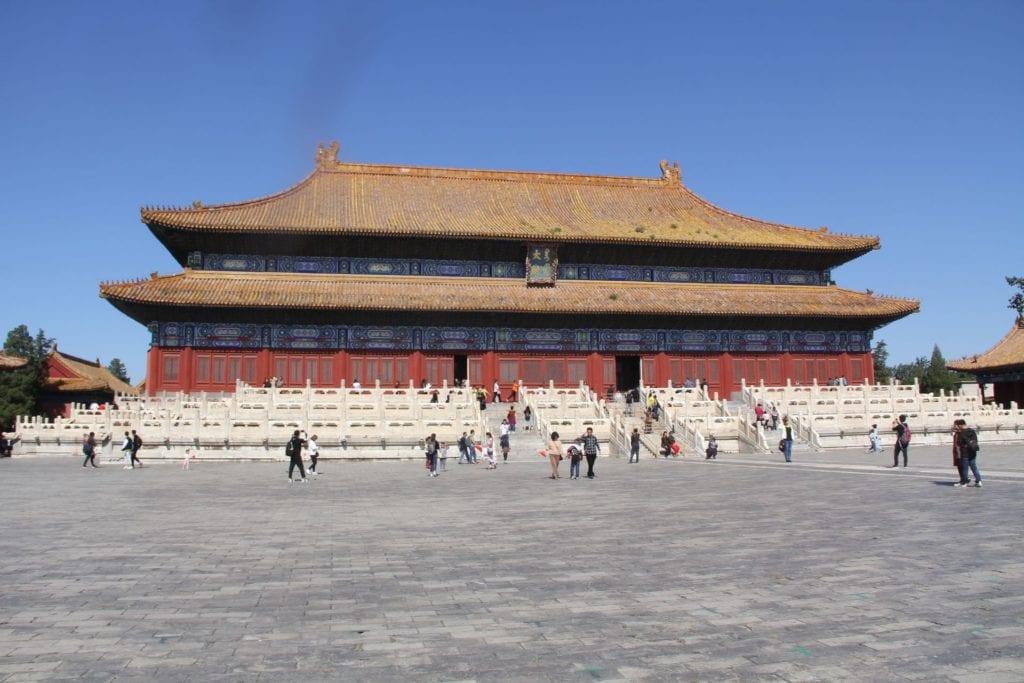 Kaiserlicher Ahnentempel Peking
