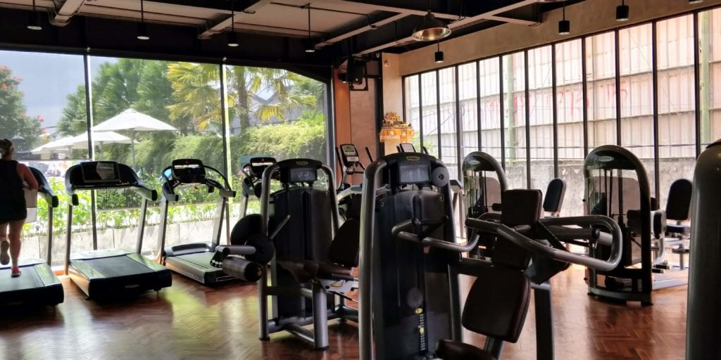 L Hotel Seminyak Fitness 1