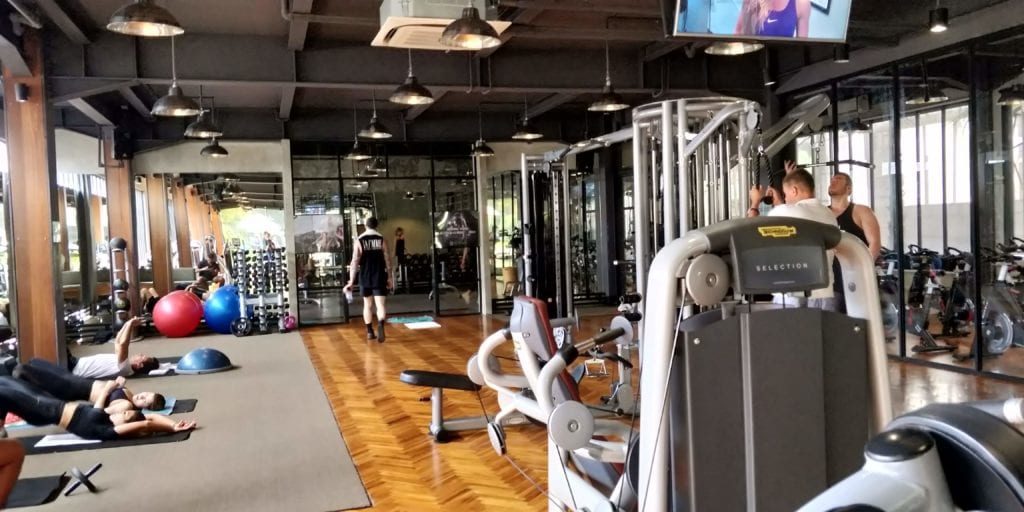 L Hotel Seminyak Fitness 2