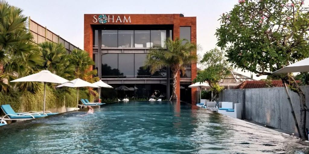 L Hotel Seminyak Pool Soham Spa