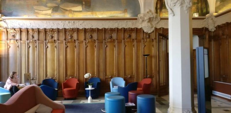 Mercure Lyon Centre Chateau Perrache Lobby