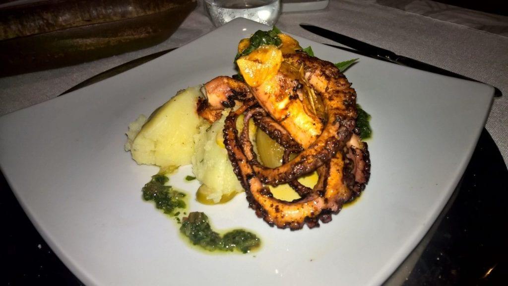 Ponta Dos Ganchos Resort Abendessen