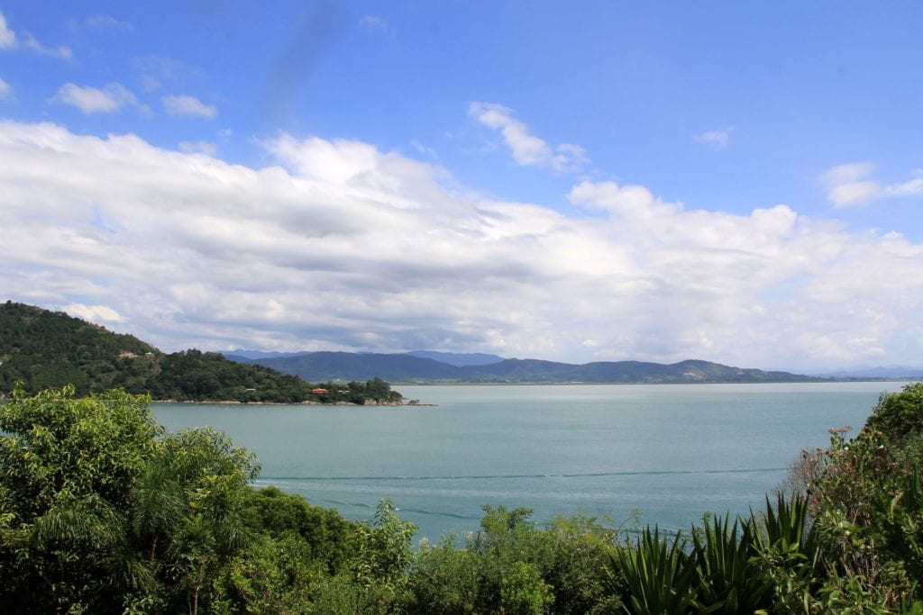 Ponta Dos Ganchos Resort Ausblick
