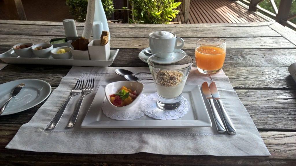 Ponta Dos Ganchos Resort Frühstück