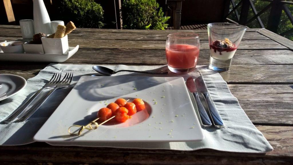 Ponta Dos Ganchos Resort Frühstück 4