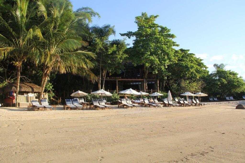Ponta Dos Ganchos Resort Strand
