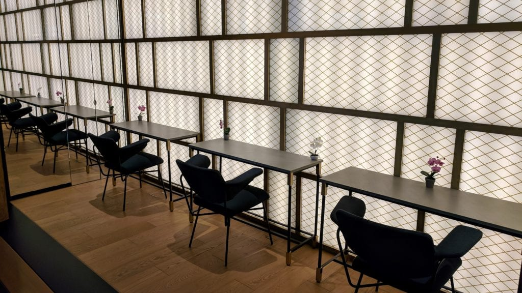 PrimeClass Lounge Zürich Schreibtisch