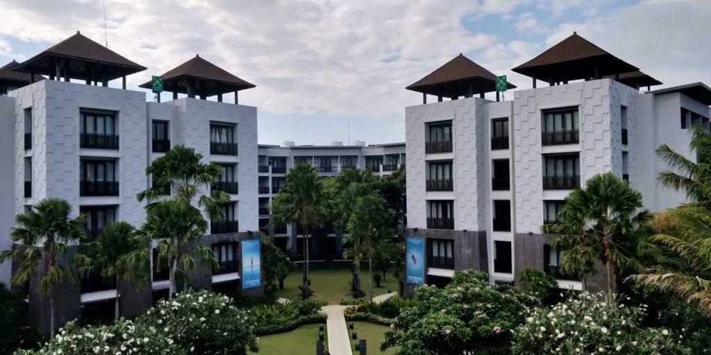 Pullman Bali Legian Beach Gebäude