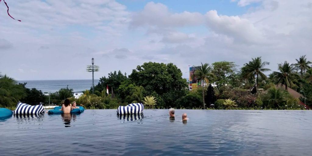 Pullman Bali Legian Beach Infinity Pool 1