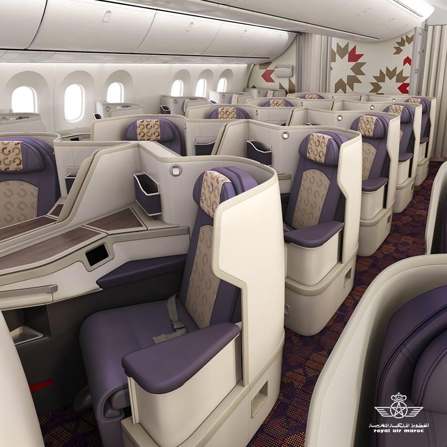Royal Air Maroc New Business Class 1