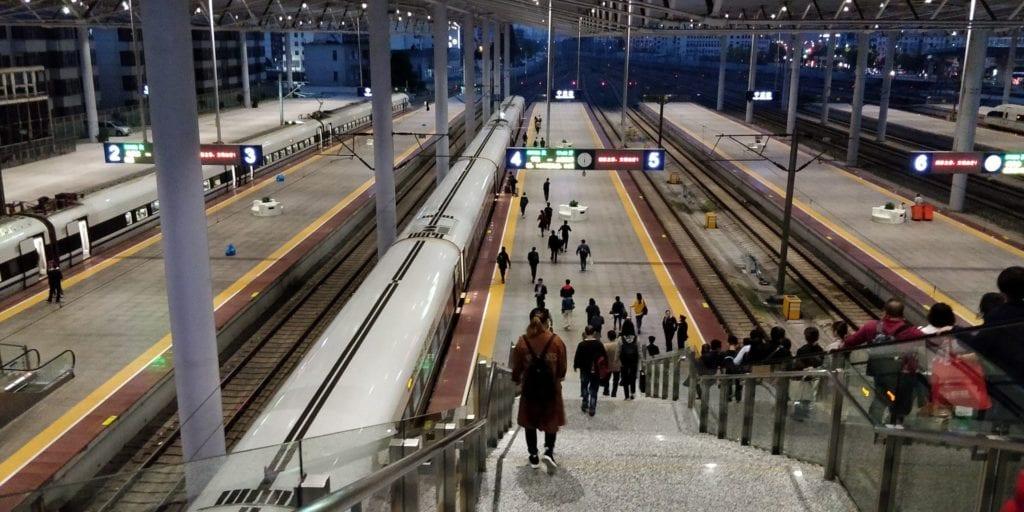 Schnellzug China Bahnhof 2