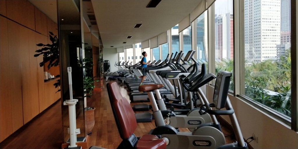 Shangri La Jakarta Fitness 1