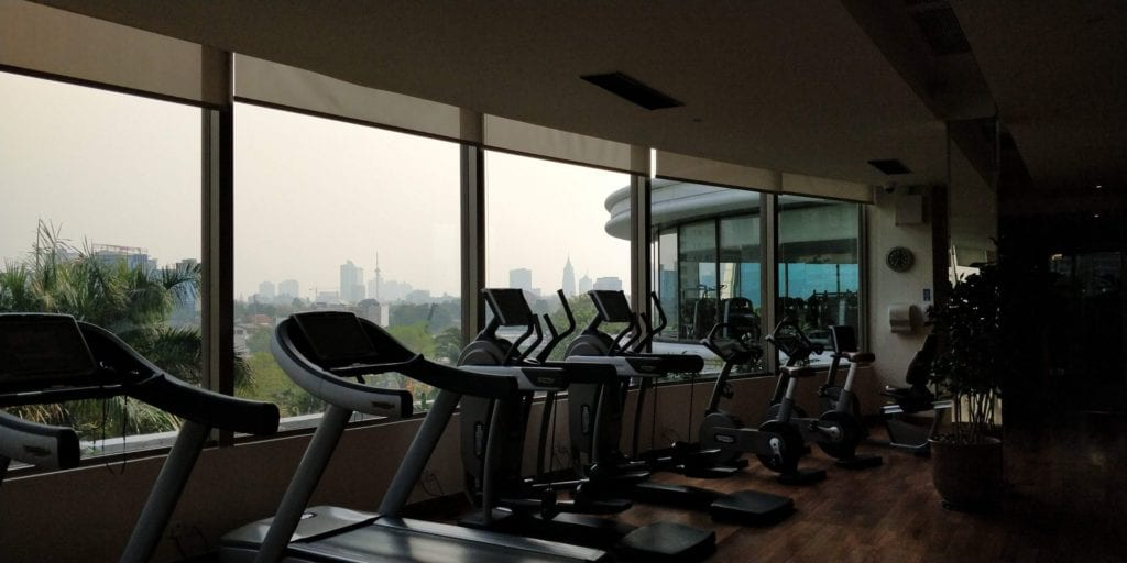 Shangri La Jakarta Fitness 3