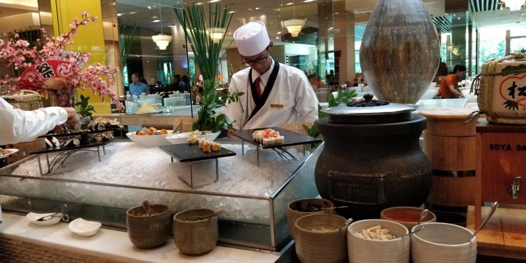 Shangri La Jakarta Frühstück 5