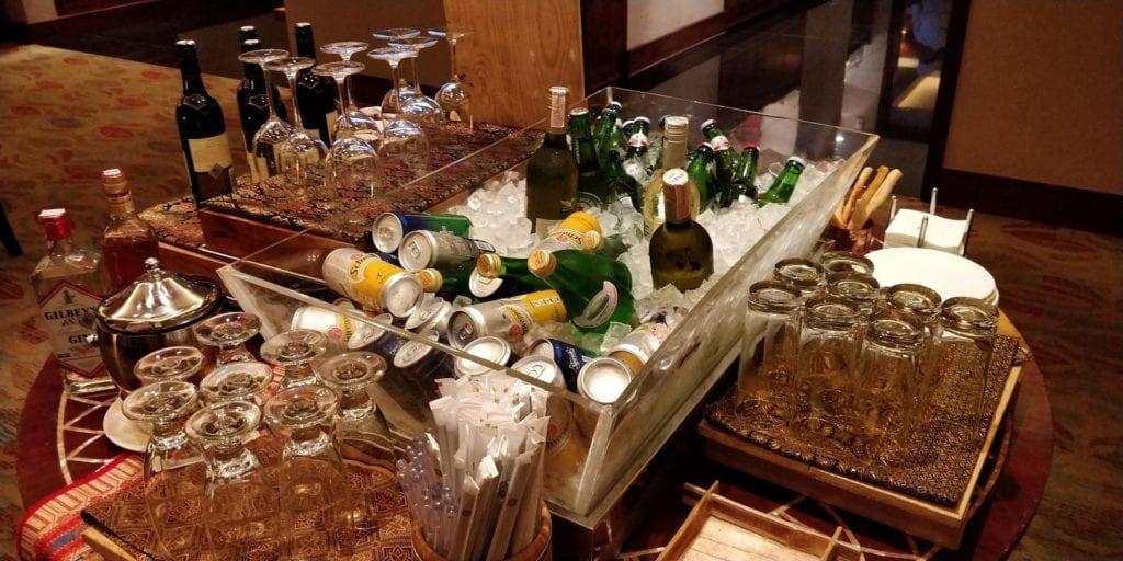 Shangri La Jakarta Horizon Club Lounge Abendessen 1