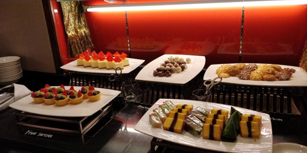 Shangri La Jakarta Horizon Club Lounge Abendessen 3