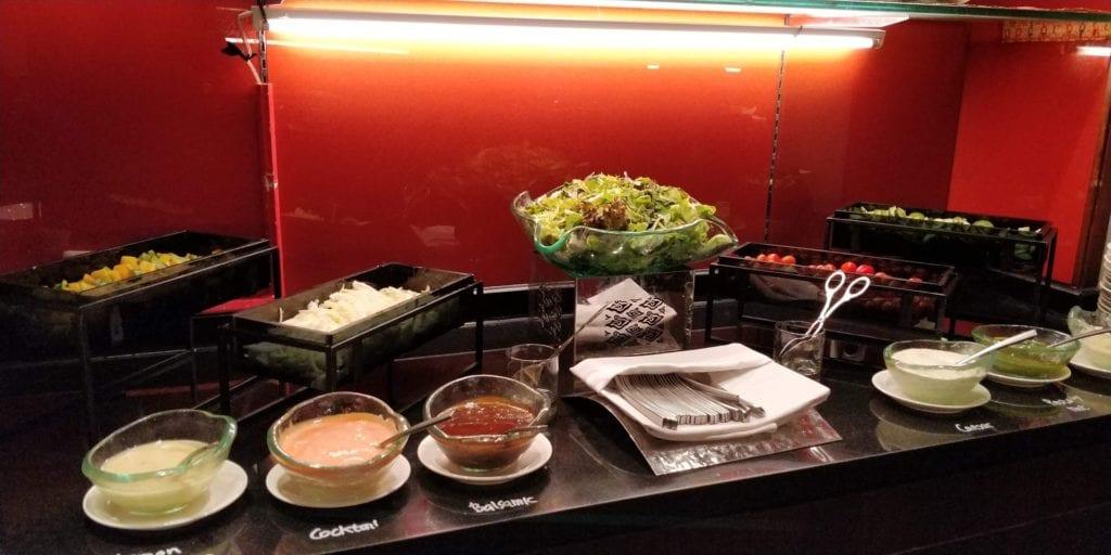 Shangri La Jakarta Horizon Club Lounge Abendessen 4