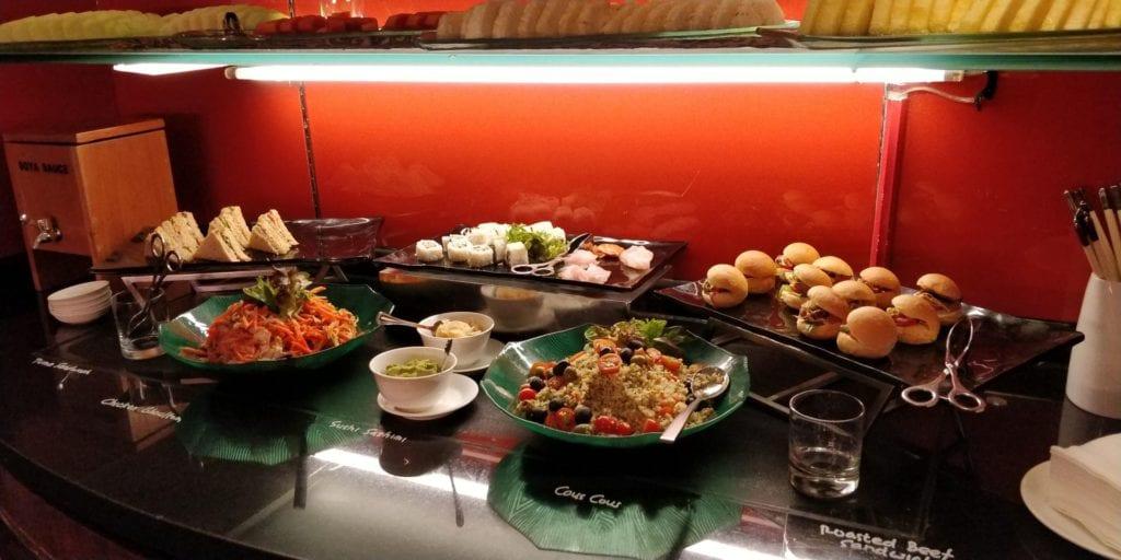 Shangri La Jakarta Horizon Club Lounge Abendessen 5
