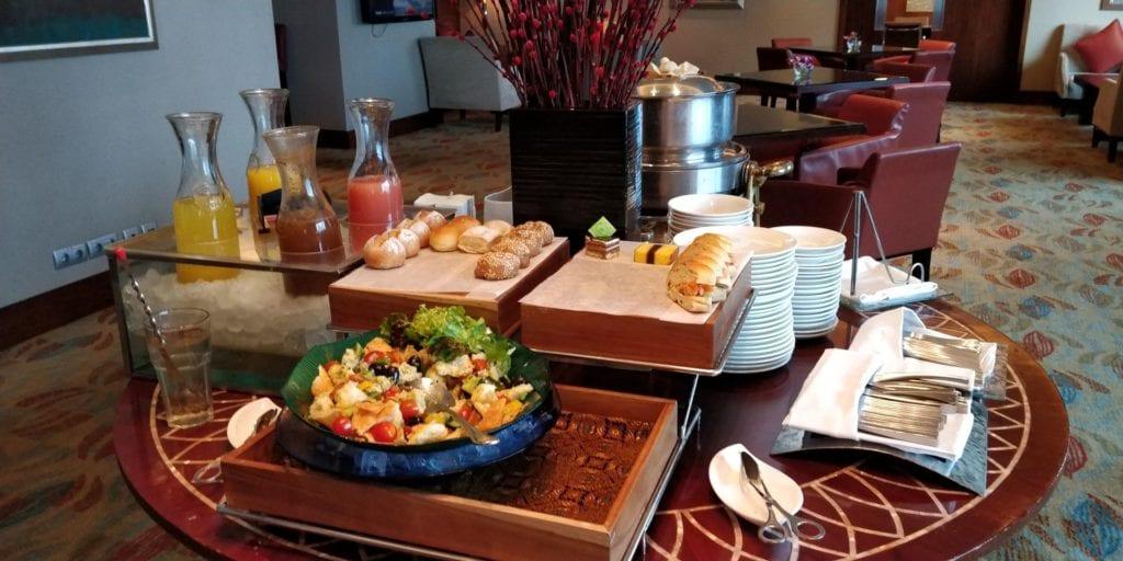 Shangri La Jakarta Horizon Club Lounge Afternoon Tea