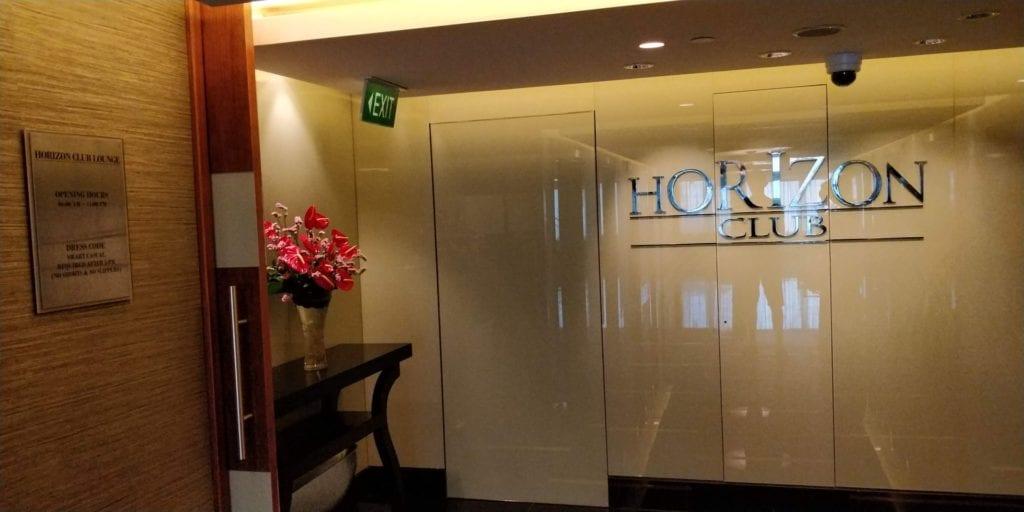 Shangri La Jakarta Horizon Club Lounge Eingang