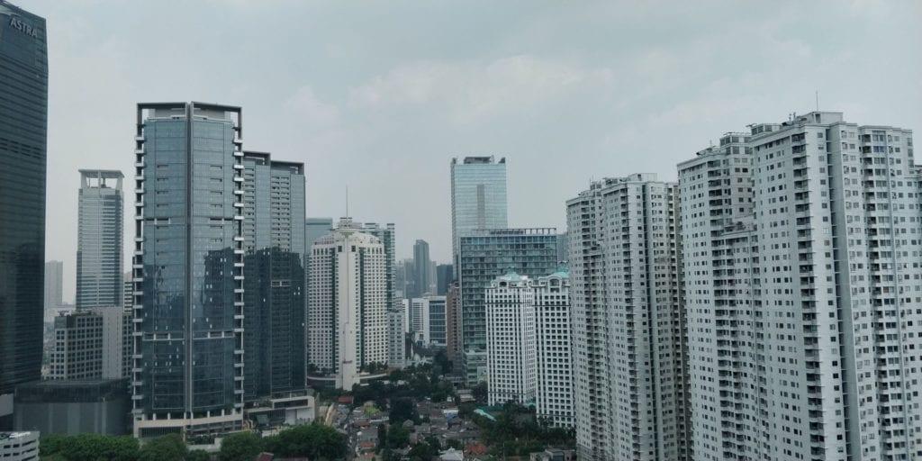 Shangri La Jakarta Zimmer Aussicht 1