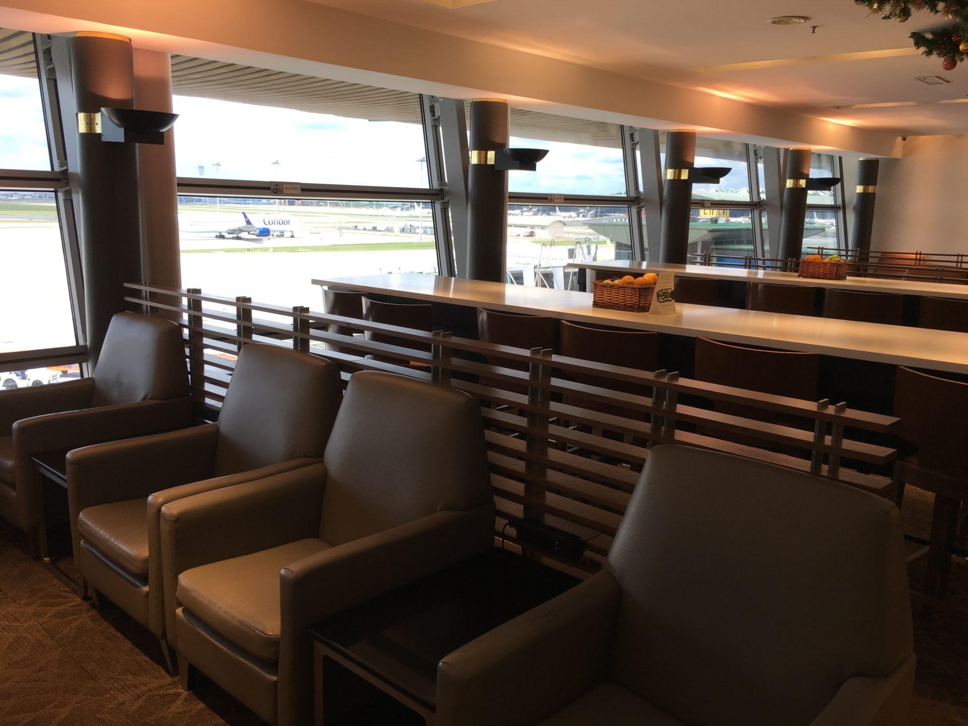 SilverKris Lounge Kuala Lumpur Layout 2
