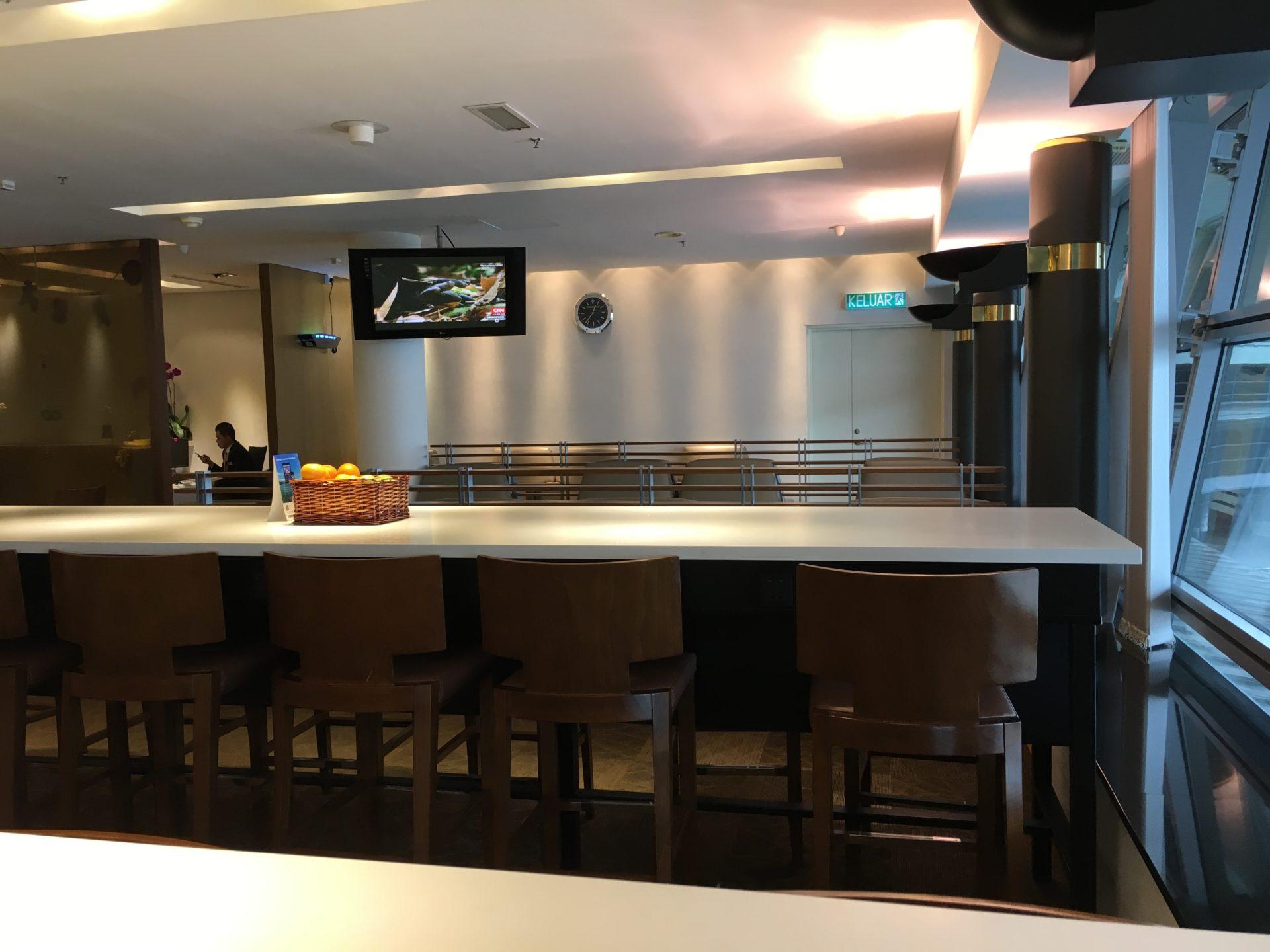 SilverKris Lounge Kuala Lumpur Layout 3