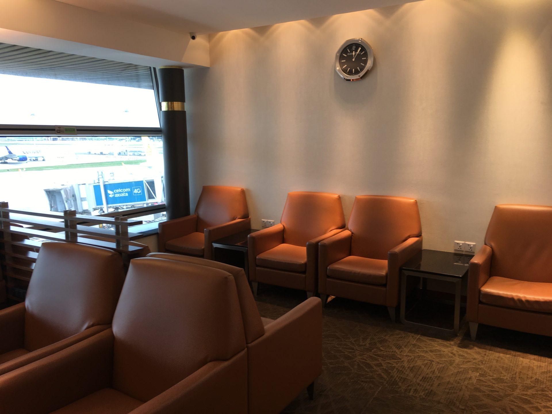 SilverKris Lounge Kuala Lumpur Layout