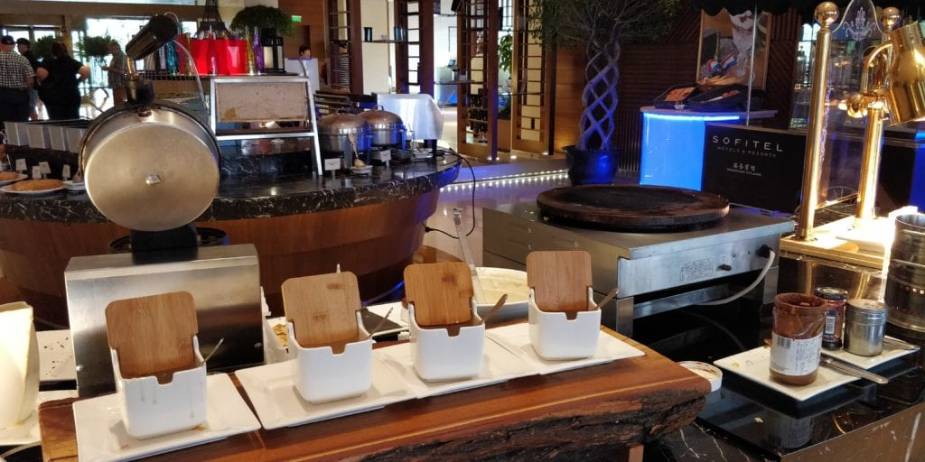 Sofitel Shanghai Hyland Frühstück