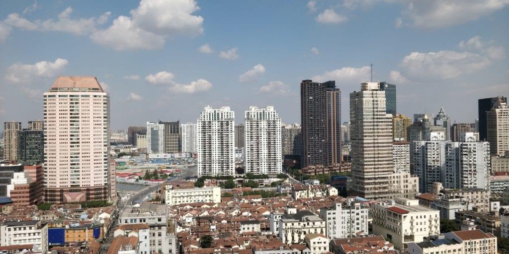 Sofitel Shanghai Hyland Prestige Suite Ausblick