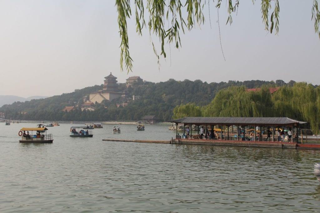 Sommerpalast Peking Kunming See