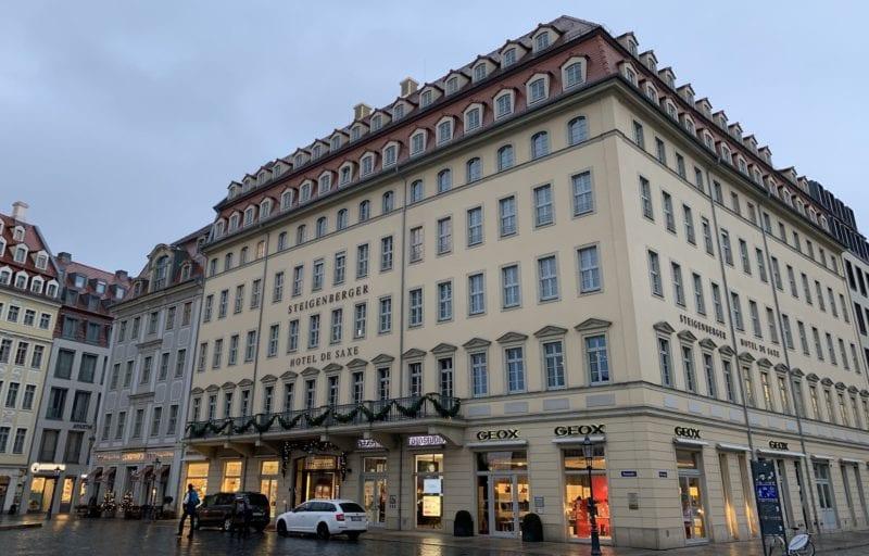 Steigenberger Hotel De Saxe Aussenansicht