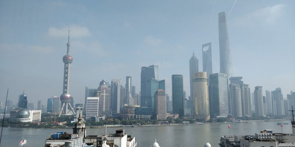 Waldorf Astoria Shanghai On The Bund Ausblick