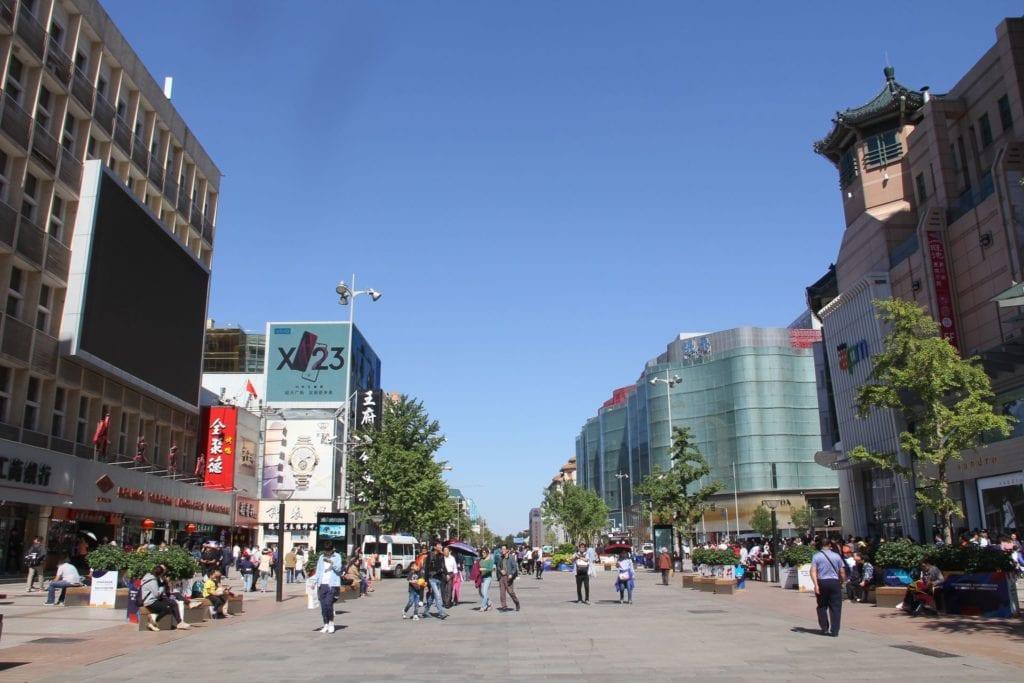 Wangfujing Peking
