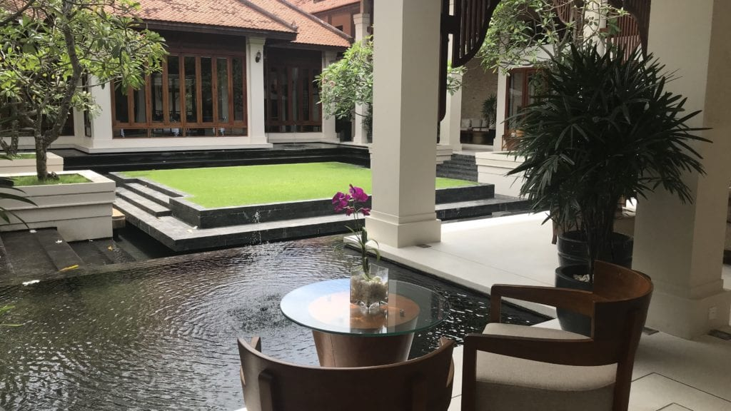 Anantara Angkor Resort Anlage 2