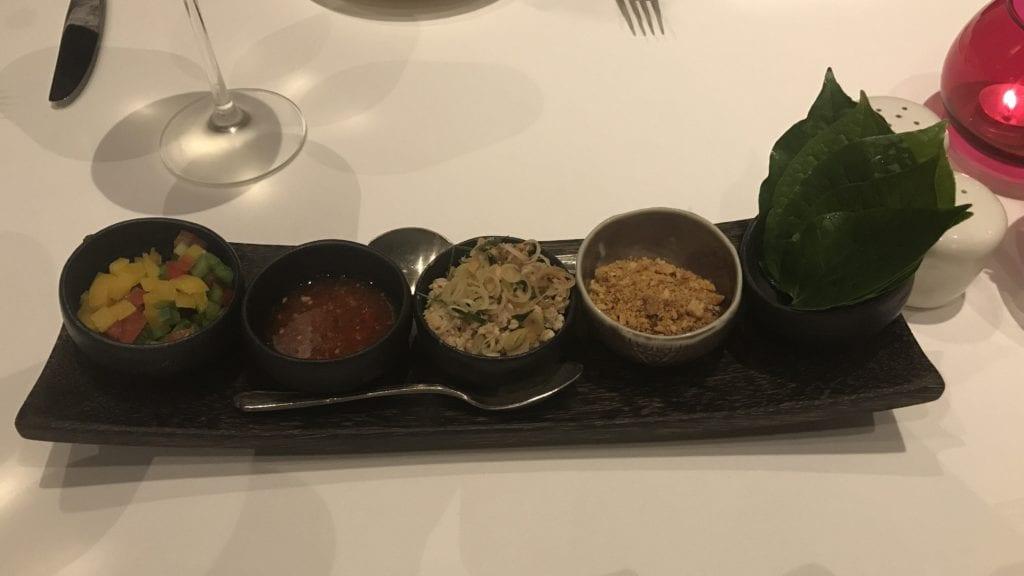 Anantara Angkor Resort Frühstück Abendessen Vorspeise