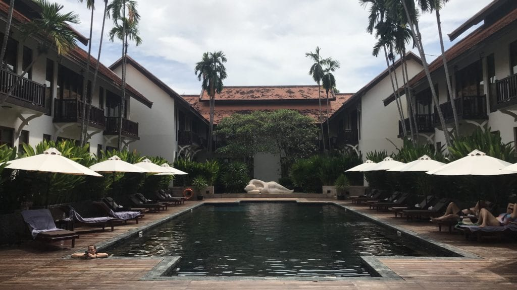 Anantara Angkor Resort Pool 2