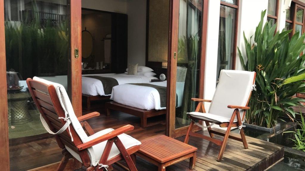 Anantara Angkor Resort Terrasse