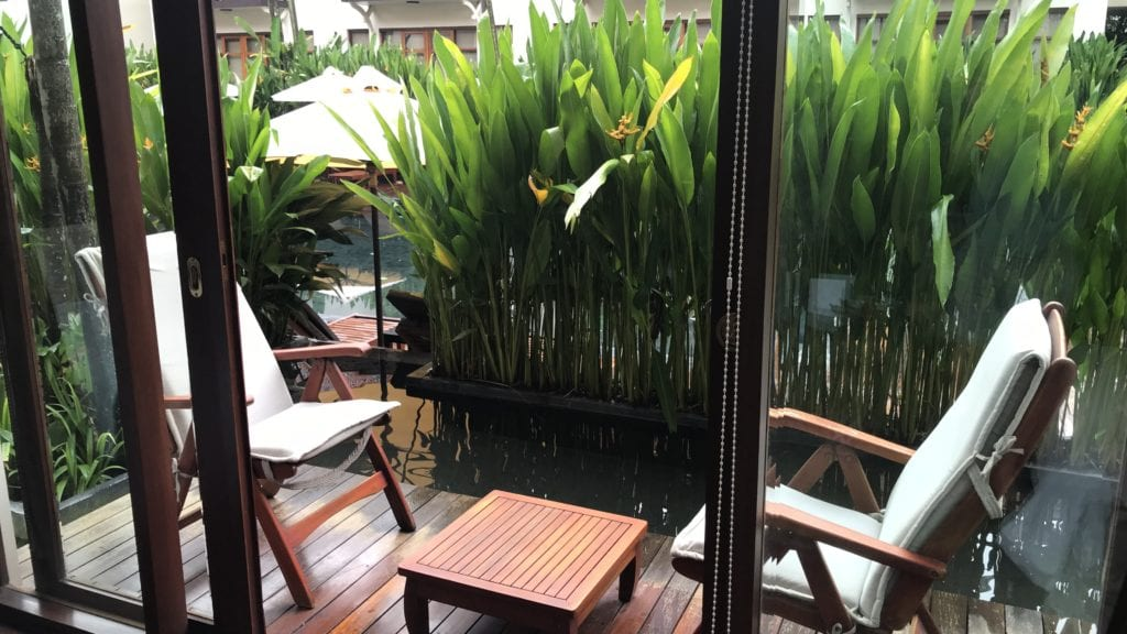 Anantara Angkor Resort Terrasse 2