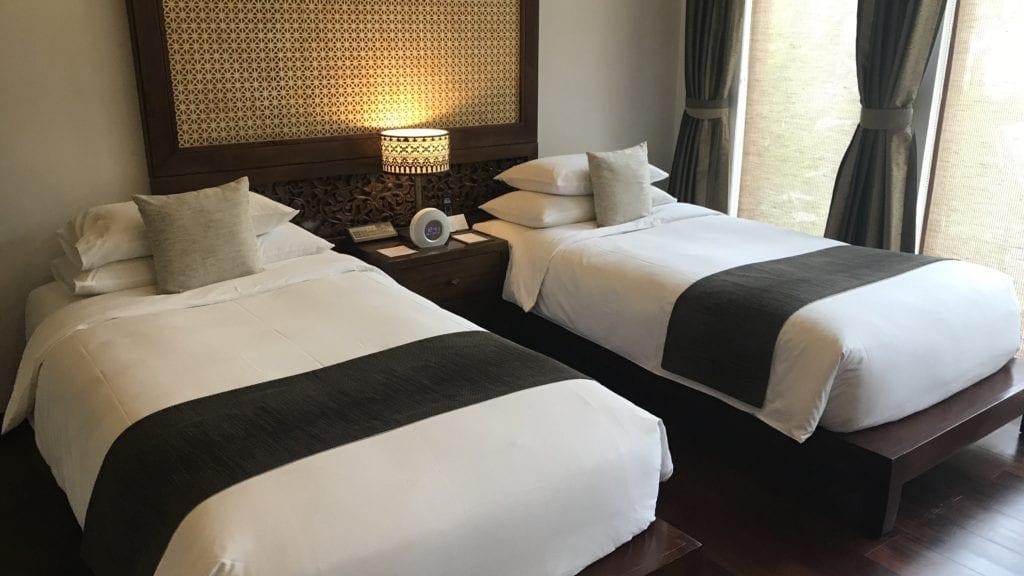 Anantara Angkor Resort Zimmer Betten