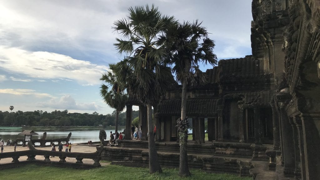 Angkor Wat Außen 2