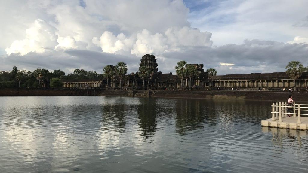 Angkor Wat Eingang Übergang