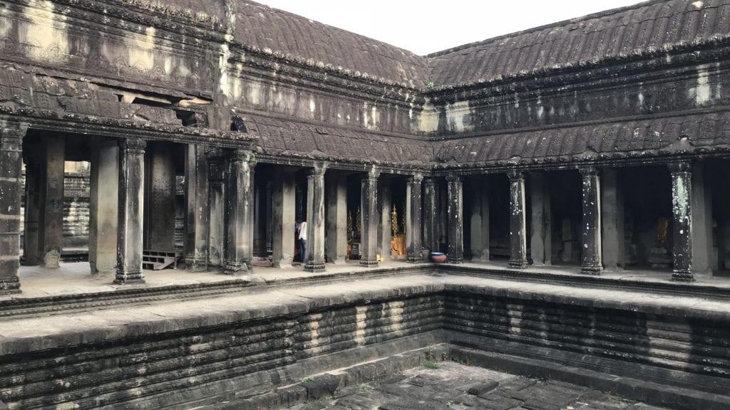 Angkor Wat Türme Innen