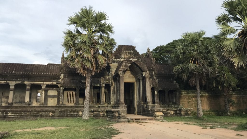 Angkor Wat Von Außen