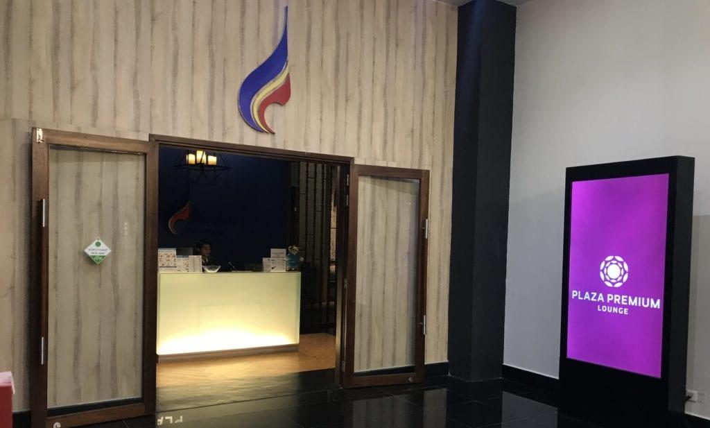Bangkok Airways Lounge Siem Reap Eingang