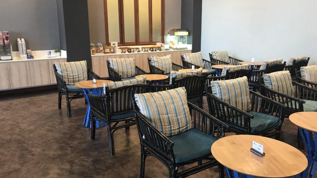 Bangkok Airways Lounge Siem Reap Sitzgelegenheiten 2